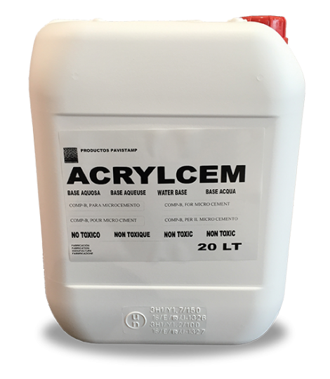 acrylic resin for microcement kneading
