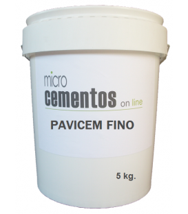 microcemento fino color 5 Kg.