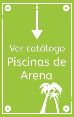 Catálogo de piscinas de arena en España para comprar online