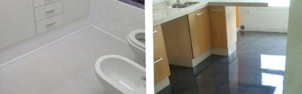 microcementos interior baño cocina