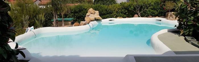 Decora tu jardín con piscina de arena