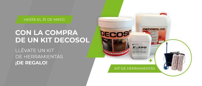 ¡Adquiere Decosol y llévate un kit de herramientas de regalo!