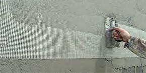 malla para reparación de paredes y suelos